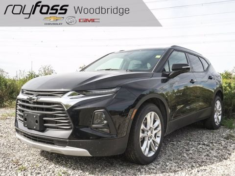 New 2019 Chevrolet Blazer True North AWD Sport Utility